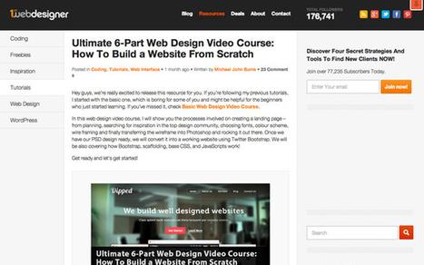 30 Best Websites to Learn Design and Development | Reflejos Tecnológicos | Scoop.it
