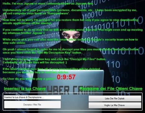 Este ransomware desbloquea archivos gratis si lees sobre ciberseguridad | Ciberseguridad + Inteligencia | Scoop.it