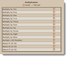 Math Fact Cafe Multiplication Flash Cards | Multiplication Teaching Resources | Scoop.it