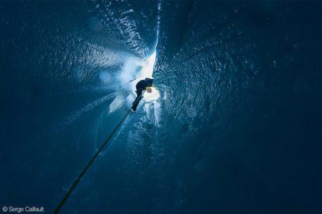 Moulins de glace: spéléologie au cœur des glaciers suisses | Petzl | ski de randonnée-alpinisme-escalade | Scoop.it