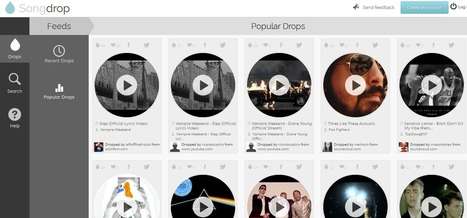 Discover, Collect And Share Music From Multiple Sources With Songdrop | Social Media Content Curation | Scoop.it