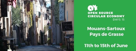 Open Source Circular Economy Days Mouans-Sartoux   ECE Student Projects Inspiration and Creation   Scoop.it