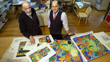 'Mad Men' Enlists the Graphics Guru Milton Glaser | ART, His Story are Culture for ALL | Scoop.it