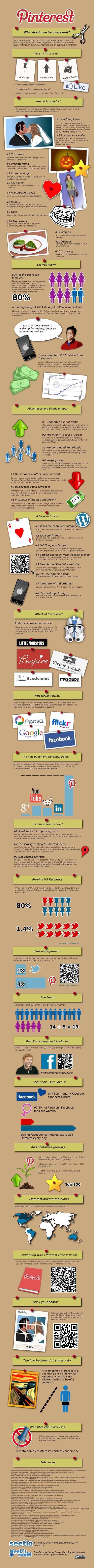 7 Mind Blowing Pinterest Infographics | Surviving Social Chaos | Scoop.it