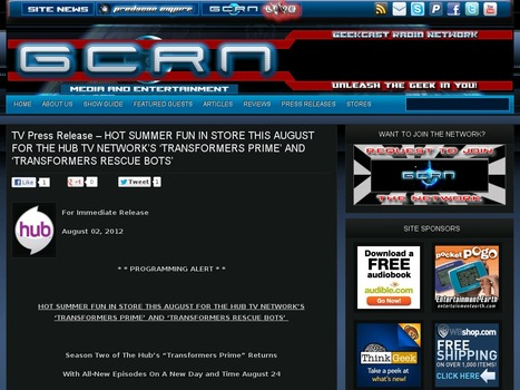 TV Press Release – HOT SUMMER FUN IN STORE THIS AUGUST ... | Info hors face book et twitter | Scoop.it