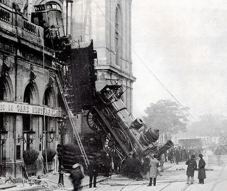 1895 - Montparnasse ? Nous avons un problème... | Histoire des Transports | Scoop.it