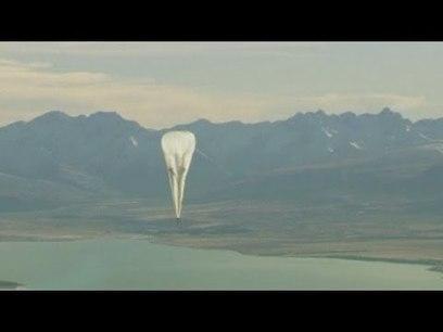 Projet «Loon»: les ballons gonflables de Google décollent en Nouvelle-Zélande | Le Monolecte | Scoop.it