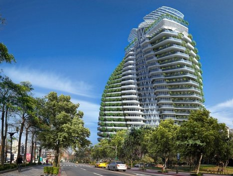 Taiwan's smog-eating twisting tower will feature luxury apartments — take a look inside | Real Estate Plus+ Daily News | Scoop.it