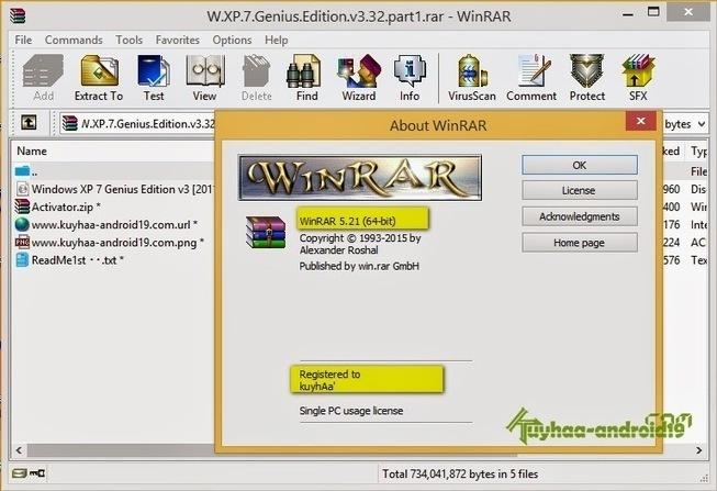 winrar 5.21 full version crack download