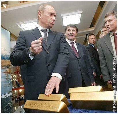 #Russia and #Mexico Both Buy Nearly $1 Billion Worth of #Gold in March | www.goldcore.com | Commodities, Resource and Freedom | Scoop.it