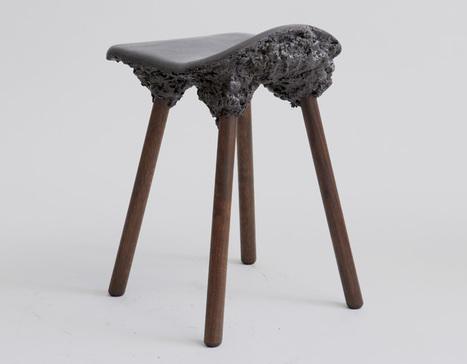 Marjan Van Aubel + James Shaw mélangent la sciure de bois et la biorésine | inoow design lab | Scoop.it