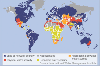 """See Where Access to Clean Water Is Getting Better—and Worse (""""much was done but still many deprived"""") 