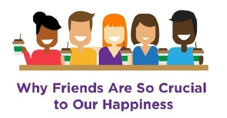 INFOGRAPHIC: Why Friends Are Key to Our Happiness, According to Science | Mental Health & Emotional Wellness | Scoop.it