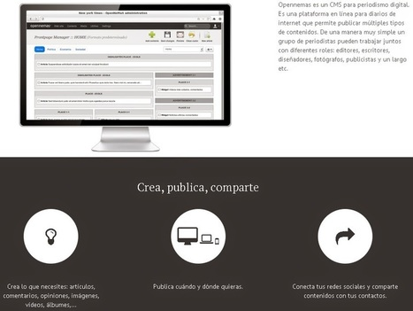Para crear periódicos on-line | Las TIC en el aula de ELE | Scoop.it