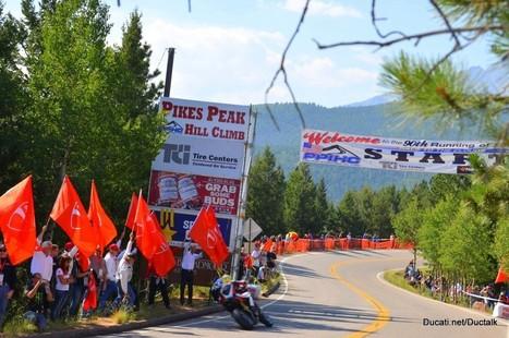 Pikes Peak - Race Day. Living on the edge | Ducati.net | Desmopro News | Scoop.it