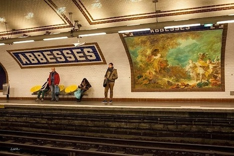 "Street Artist Etienne Lavie Hijacks Billboards in Paris Replacing Ads with Classic Artworks | Junkculture | ""Life Without Art Is Stupid"" 