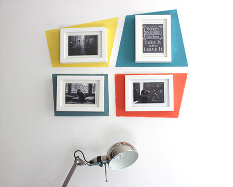 Comment customiser un mur très simplement  ? | Céka décore | Scoop.it