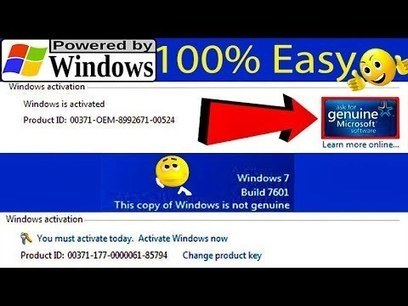 windows 7 build 7601 activation key free download