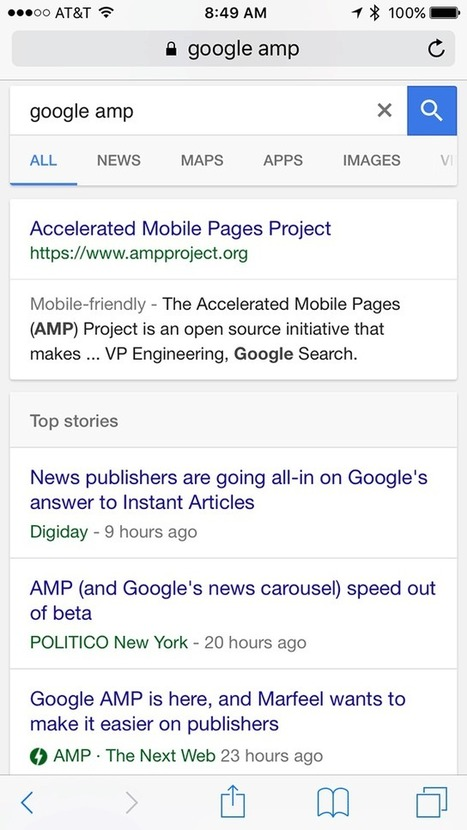 Google AMP Goes Live Now | Real SEO | Scoop.it