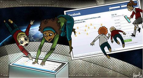 Siete formas de usar las redes sociales en el salón   Ticenelaula   Scoop.it