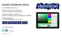 Sketchlot. Un tableau blanc collaboratif pour l'ecole | Les outils du Web 2.0 | Scoop.it