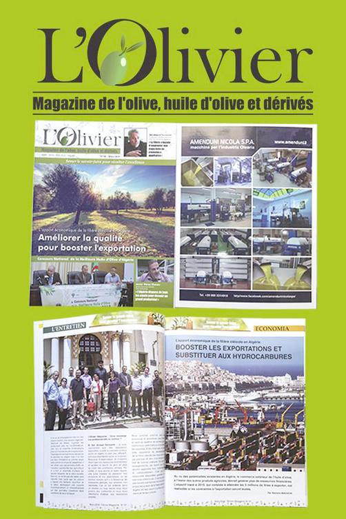 L'Olivier, une revue dédiée à l'huile d'olive algérienne