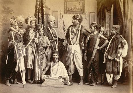 Rare Book Society of India | Indian theatrical group, Bombay (1870) | Indian Photographies | Scoop.it