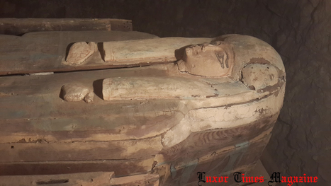 Third Intermediate Period Chantress coffin discovered in Sakkara | Egyptology and Archaeology | Scoop.it