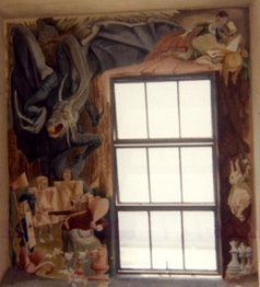 Alice In Wonderland Mural Discovered On SDSU Campus   KPBS.org   Archaeology News   Scoop.it