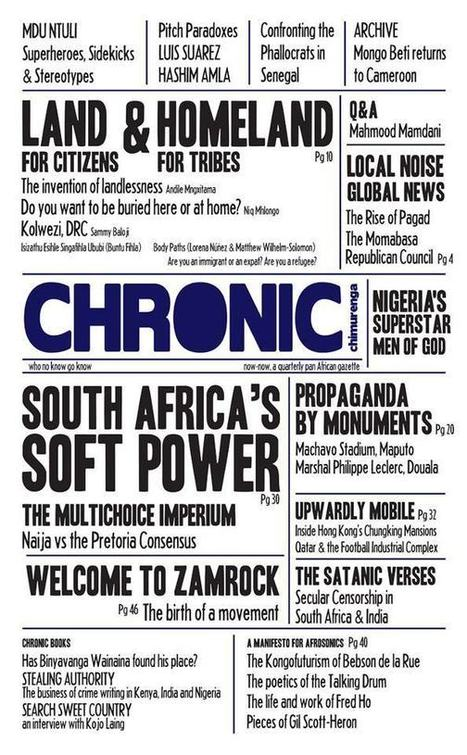 The New Chimurenga | Vusdafrique | Scoop.it