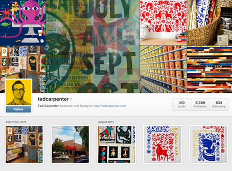 20 graphic designers to follow on Instagram | Designer's Resources | Scoop.it