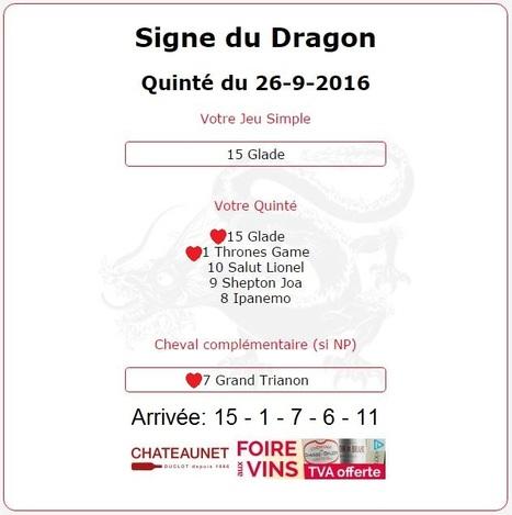 1 416.10€ pour les AstroQuinté au Tiercé-Quarté-Quinté+ du 26/09 à CRAON. | Pariez avec ASTROQUINTE | Scoop.it