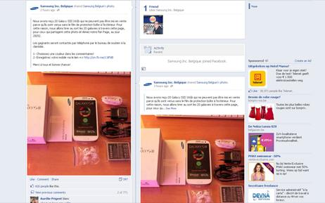 Nouvelle arnaque sur Facebook: de fausses pages Samsung vous proposent des smartphones gratuits | digitalcuration | Scoop.it