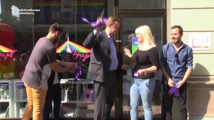 VIDEO: Belgrade Pride Week Organizers Open Information Center