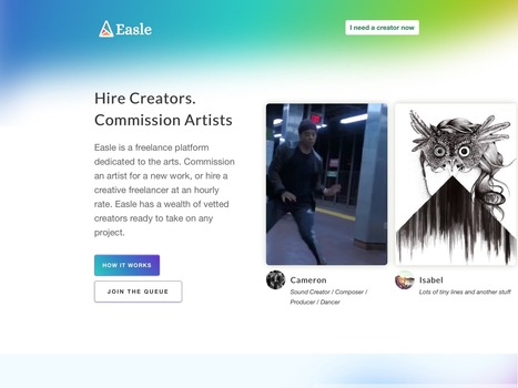 Easle is another fine #startup | Designing  service | Scoop.it