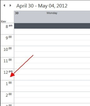 Knowledge Is Everything: Outlook: Two time zones in calendar | Productivity Tools | Scoop.it