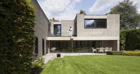 Maison d\'architecte à Gand, Belgique | Copperconcept.org