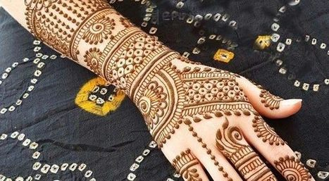 Latest Mehndi Designs Images For Girls 2018 F