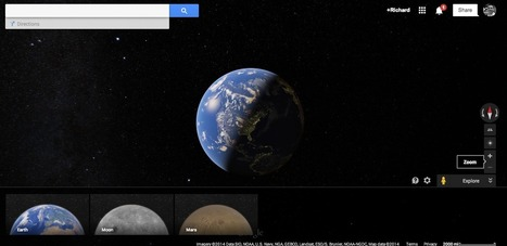 Free Technology for Teachers: Explore the Moon and Mars in Google Maps | The Browse | Scoop.it