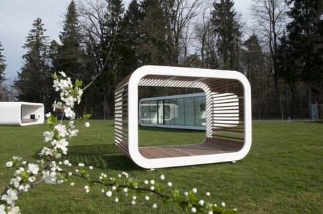 'Coodo' Mobile Living: A Modular Structure That Adapts To Its Natural Surroundings | retail and design | Scoop.it