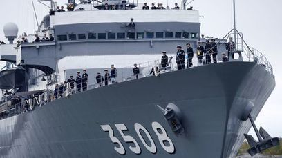 First-ever Japanese naval visit to Helsinki - YLE News | The Finnishing Touches | Scoop.it