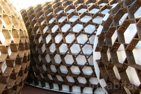 Chun Qing Li's Sustainable Pavilion Unveiled at London Design Festival   sustainable architecture   Scoop.it