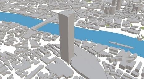 ViziCities permite visualizar multitud de datos sobre una ciudad modelada en 3D | Urbanismo, urbano, personas | Scoop.it