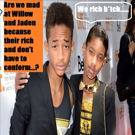 CommonSenseOnComplexIssues- Why do we keep calling these kids weird?  Are yall really mad that their rich and can be themselves..... | CommonSenseOnComplexIssues | Scoop.it