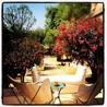 Les bains et les jardins de l'hôtel Les Deux Tours à Marrakech
