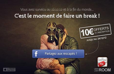 VeryLastRoom offre 10€ à tous les survivants de l'apocalypse ! (jusqu'au 24/12)   Hotel Web Marketing   Scoop.it