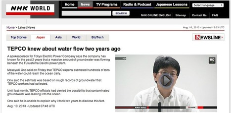 Point sur la situation de l'eau contaminée à Fukushima | FUKUSHIMA INFORMATIONS | Scoop.it