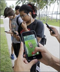 As Pokémon Go Becomes a Sensation, Education Experts Weigh Pros and Cons | EdWeek | EFL-ESL, ELT, Education | Language - Learning - Teaching - Educating | Scoop.it