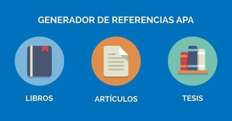 Normas Apa – Generadores de Referencias Estilo APA Online | Las Tics y las ciencias de la informacion | Scoop.it