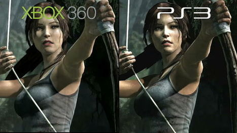 Tomb Raider Gameplay Xbox vs PS3 Comparison | A Videogame is a World Away | Scoop.it